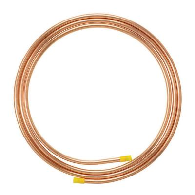 Type acr soft copper tubing for Copper pipe types